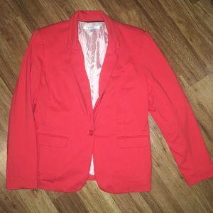 Coral Pink Blazer